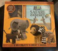 New Animal Planet Safari Crochet Kit