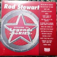 LEGENDS KARAOKE CDG ROD STEWART CLASSIC ROCK OLDIES #32 16 SONGS CD+G ANGEL