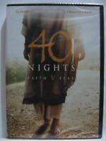 40 Nights: Faith V Fear (DVD, 2015) NEW!