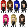 WOMEN'S SEXY WAVE LONG FANCY DRESS WIGS COSTUME PARTY LADIES FULL WIG PARTY