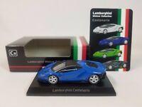 1:64 Kyosho Lamborghini Minicar Collection Centenario LP770-4 2016-2017 Blue C