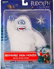Rudolph and the Island Abominable Snow Monster with Star Deluxe Jc