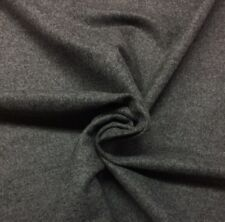 """Hbf Textiles 100% Wool Solid Charcoal Gray Multipurpose Fabric By Yard 58""""W"""