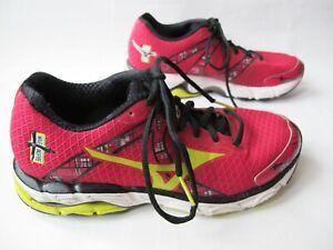 Mizuno Wave Inspire 10th Anniversary Fuchsia Running Shoes Trainers Sneakers UK6