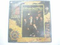 DURAN DURAN SEVEN THE RAGGED TIGER RARE LP record INDIA INDIAN 76 VG+