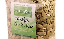 12oz Gourmet Style Bag of Fresh Raw Pumpkin Seeds [3/4 lb.]