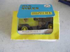 RARE IGRA Old Timer Car Praga Charon Postovni MIB