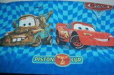 Lightning McQueen Tow Mater Pillowcase Vintage Disney Pixar Cars Piston Cup 95