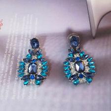 NEW Urban Anthropologie Celina Transculent Glow Blue Post Earrings