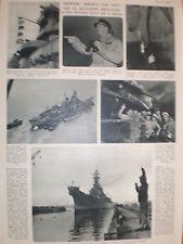 Article US navy USS Missouri refloated 1950