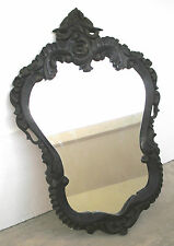 Vintage Wooden Wall Mirror with Beautiful Carvings