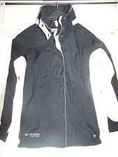 COLUMBIA VERTEX CORE INTERCHANGE OMNI SHIELD Jacket Coat Shell Womens S Black