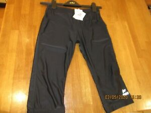 IPSO FITNESS SPORTS GYM EXERCISE RUNNING JOGGING LEGGINGS BLACK SMALL BNWT