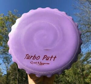 Turbo Putt Quest AT Advanced Technologies Rare OOP Disc Golf Original Plastic