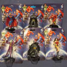 DC Comics Figurine Set Lot Batman Superman Joker Wonder Woman Flash New NIP