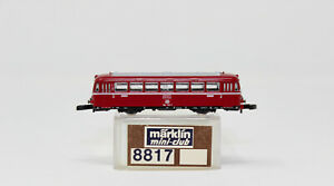 Z Scale Marklin 8817 DB Deutsche Class 998 604-3 Railbus Sidecar Lighted LNIB