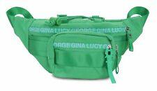 GEORGE GINA & LUCY Nylon Roots Solid Belly Bean Gürteltasche Tasche Green Grün