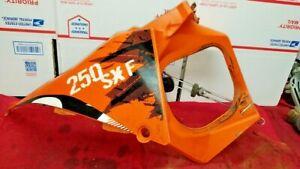KTM 250 SXF 2007 SX-F AIR BOX PART RIGHT & FILTER SUPPORT