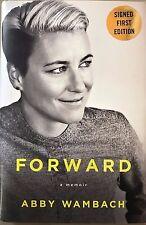 "ABBY WAMBACH SIGNED 1st EDITION BOOK ""FORWARD"" USA SOCCER"