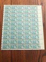 US Scott #1005 1952 USPS 3c 4-H Club Full Sheet of 50 / MNH OG