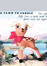 Bambi/baby deer/fawn vintage toy knitting pattern