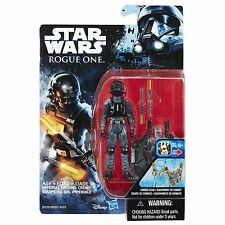 Star Wars Rogue One 3.75-Inch Figure Imperial Ground Crew In Hand