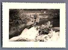 Belgique, Spontin (Région Wallonne) Vintage silver print.  Tirage argentique