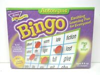 Bingo Trend Game Build Vocabulary Antonyms Educational Learning Read Skills NEW