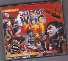 DOCTOR WHO THE INVASION 3CD BBC AUDIO SOUNDTRACK LINKING NARRATION FRAZER HINES