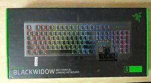 Razer BlackWidow Mechanical Gaming Keyboard: Green Mechanical Switches