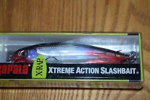 "Rapala XR-10 X-Rap Suspending Jerkbait 4"" Fishing Lure (Silver) NIP"