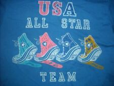 VTG 80S CONVERSE ALL STAR TEAM USA SNEAKER SHOE TRAINER SHIRT