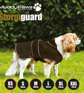 Ancol Stormguard Dog Coat S 30cm, Chocolate