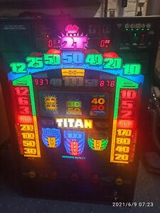 Spielautomat  Bally Wulff TITAN PRO zur Privatnutzung