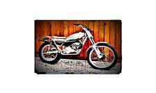 1974 rl250 Bike Motorcycle A4 Photo Poster
