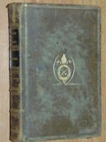 Commentary On The New Testament The Four Gospels. 1883 Good Leather Bound WW How