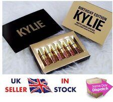 NEW💖 Kylie Jenner Birthday Edition 💖 Matte Liquid Lipstick Lip 6 Piece Kit