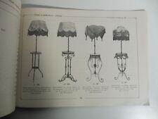 Premiata fabbrica lampadari in ferro battuto e ottone. Rossi & Demarchi, Torino