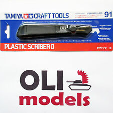 TAMIYA Craft Tools PLASTIC SCRIBER II with 2 Spare Blades  - Tamiya 74091
