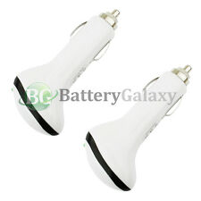 2 NEW USB RAPID Car Charger Adapter 1.5A for Samsung Galaxy S2 S3 S4 S5 S6 S7 S8