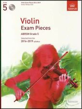 Violin Exam Pieces 2016-2019 ABRSM Grade 5 Score Part & 2CDs Sheet Music Book