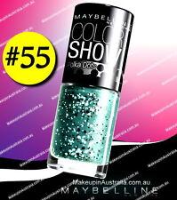 Maybelline Color Show Polka Dots Nail Polish Drops of Jade 55