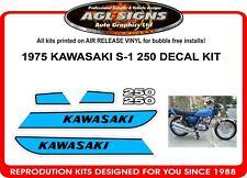 1975 KAWASAKI 250 S1  DECAL SET  reproduction  S-1