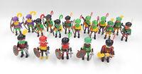 Playmobil Figuren Infanterie Langbogenschützen Bogenschützen Armee Burg Soldaten