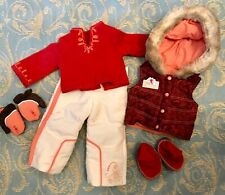 Authentic American Girl Doll Clothes: NICKI SKI WEAR OUTFIT 2007 - 2007