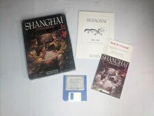 Shanghai Vintage Atari Home Computer Game w/Original Box & Manual