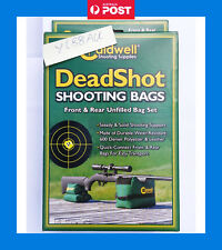 Caldwell Deadshot Front & Rear Shooting Rest Bags - Unfilled-#248885 - Dead shot