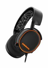 SteelSeries Arctis 5 RGB Illuminated Gaming Headset with DTS Headphone:X 7.1 ...