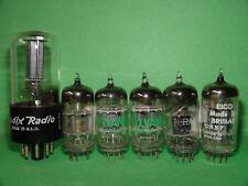 6 Low Testing Vacuum Tubes