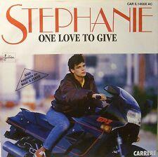 Stephanie  One love to give    (Single)